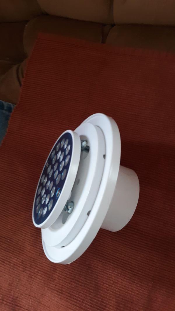 New shower floor drain
