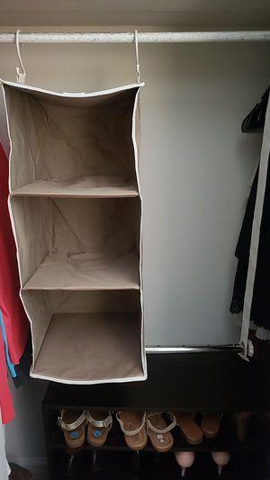 Closet organizer for Sale in Durham, NC