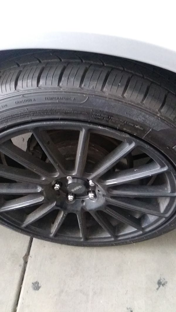 Gmax 18in rims and 18 inch low profile tires
