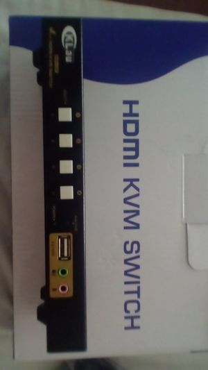 HDMI KVM switch for Sale in Fresno, CA