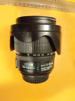 Canon 15-85mm lens for Sale in Piedmont,  CA