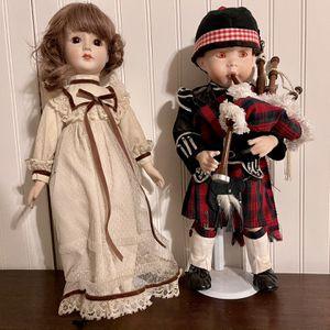 M. Wanke Vintage Porcelain Dolls for Sale in Lake Oswego, OR