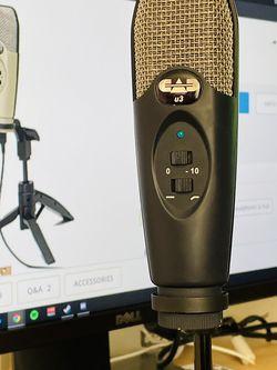 CAD U37 USB Studio Condenser Recording Microphone for Sale in Burke,  VA