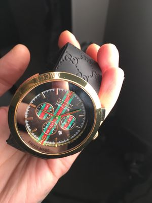 AUTHENTIC GOLD GUCCI WATCH 160$ FIRM for Sale in Fort Washington, MD