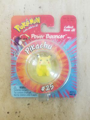 Vintage Hasbro Pokemon Power Bouncer Pikachu Ball Nintendo for Sale in Los Angeles, CA