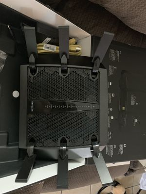Netgear X6 high speed router for Sale in Houston, TX