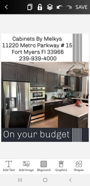 Extremely high quality wood kitchen cabinets for Sale in Punta Gorda, FL