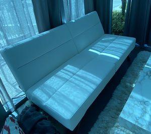 Leather futon modern for Sale in Oakland Park, FL