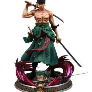 One Piece 2 Head Roronoa Zoro Figure 15in PVC Recast Statue for Sale in Stafford, TX