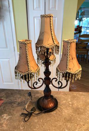 Vintage candelabra table lamp for Sale in Hamilton Township, NJ