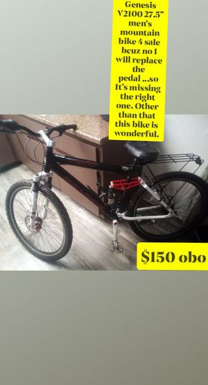"Genesis v2100 men's 27.5"" mountain bike for Sale in Fresno, CA"