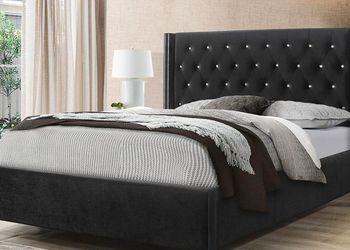 New! King Black Velvet Platform Beds for Sale in Monrovia,  MD