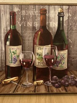 Wine Frame Wall Decor for Sale in Los Angeles,  CA