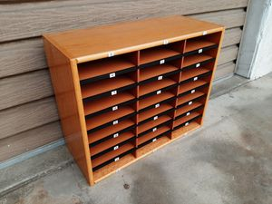 School cabinet cubby shelf unit storage for Sale in Redondo Beach, CA