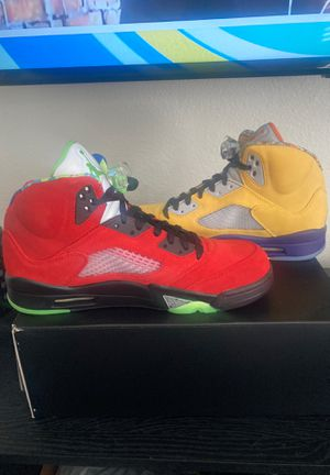 Jordan 5 (What the) for Sale in Los Angeles, CA