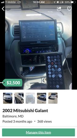 Brand new car DVD player for car for Sale in Baltimore,  MD