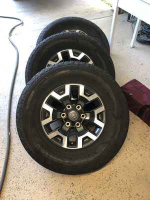Set of Toyota Tacoma TRD off-road wheels for Sale in Pflugerville, TX