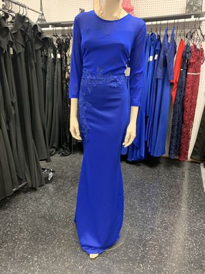 Royal blue evening dress long sleeve for Sale in McAllen, TX