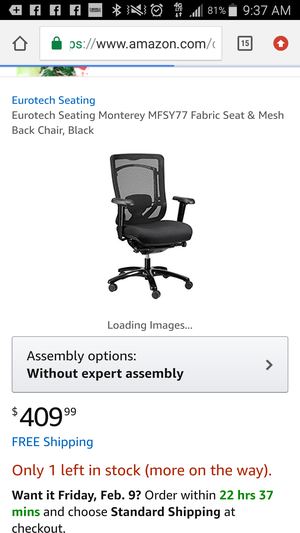 Brand new computer chair for Sale in NC, US