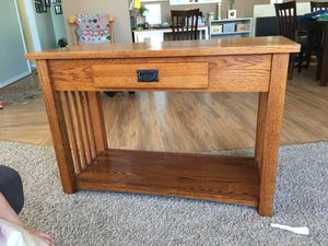 Tv console/table for Sale in Mount Vernon, WA