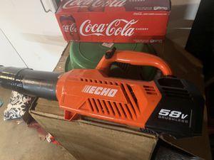 Echo 58 V brushless blower (tool only) for Sale in San Bernardino, CA