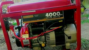4000 exc generator it was only used a couple times than out in garage it runs great for Sale in Everett, WA