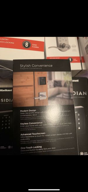 Kwikset smart lock keypad for Sale in Cordova, TN