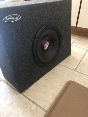 Audio Craft (Atomic) Subwoofer Speaker for Sale in Chicago, IL