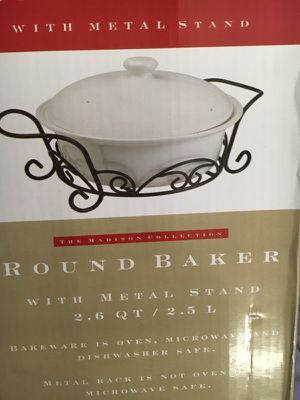 New Baker bowl with led for Sale in Crownsville, MD