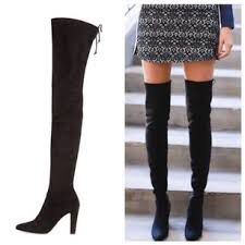 Stuart Weitzman Size 6 Thigh-High Black Suede Boots, Unworn for Sale in Chicago, IL