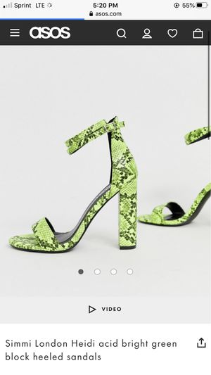 Snake print heels for Sale in Cincinnati, OH