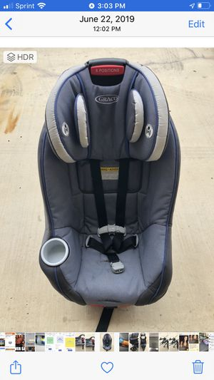 Graco convertible car seat for Sale in Fort Worth, TX