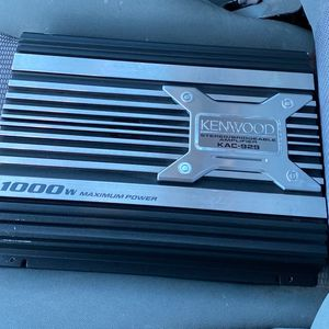 Kenwood Car Amplifier _ KAC-929 1000 watts for Sale in Phoenix, AZ