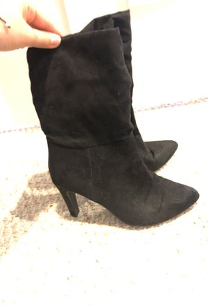 Black ankle booties for Sale in Lorton, VA