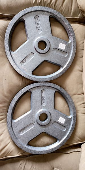 BRAND NEW 45 POUND OLYMPIC PLATES for Sale in San Diego, CA