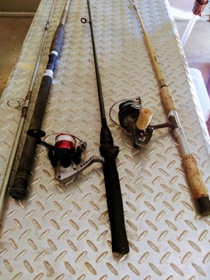 Fishing rods and reel for Sale in Las Vegas, NV