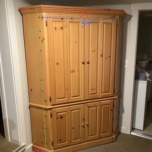 Entertainment Center/Armoire for Sale in Scotts Valley, CA