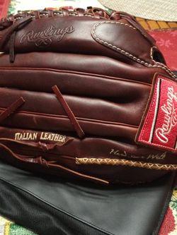 New Rawlings Dual Core Italian Leather Glove Trap-Eze Model PRM 1275 for Sale in Fairfax,  VA