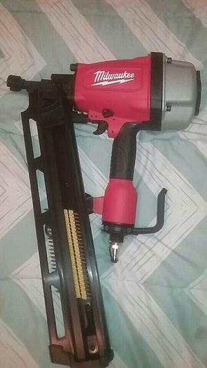 Milwakee nail gun for Sale in Phoenix, AZ