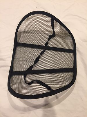 Mesh Back Support for Office Chair for Sale in Los Angeles, CA