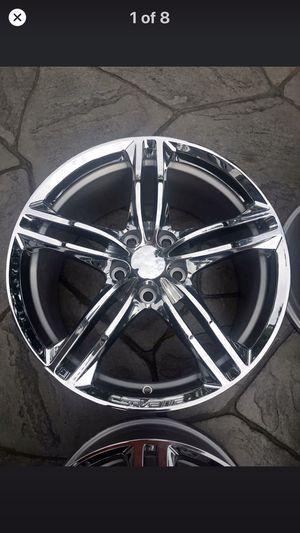 Corvette chrome wheels for Sale in Rochester, NY
