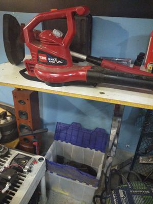 Toro rake and vac for sale for Sale in Cheney, WA