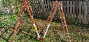 18 Foot Foldable Steel ladder for Sale in Chantilly, VA
