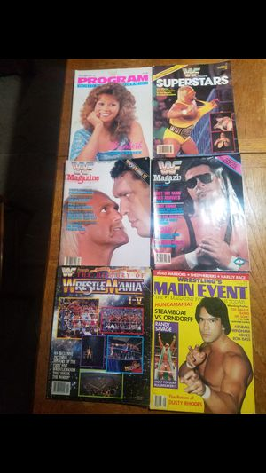 WWF Mags for Sale in Allentown, PA