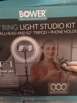 12 Inch Ring Light With Stand for Sale in Cleveland,  OH