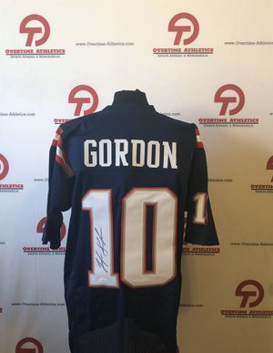 Josh Gordon Signed NE Patriots Jersey (JSA COA) for Sale in Phoenix, AZ