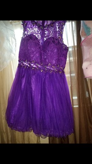 Purple Homecoming Dress Size Large for Sale in Union City, CA