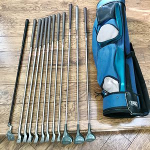 DeGolf GALANT Power Flow System Stainless Iron woods putter and Voit bag golf club Set ⛳ Ladies for Sale in Folsom, CA