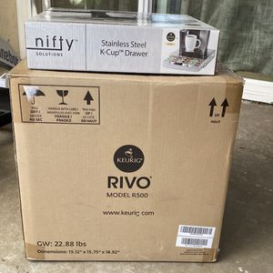 Keurig Rivo Coffee Machine & Kcup Drawer for Sale in Santa Ana, CA