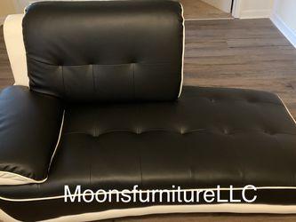 Black N White Sofa Loveseat Chair for Sale in Marietta,  GA
